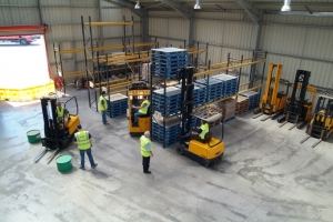 Forklift training by O'Kane Training